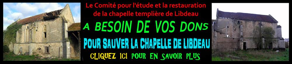 Sauvons la chapelle templière de Libdeau